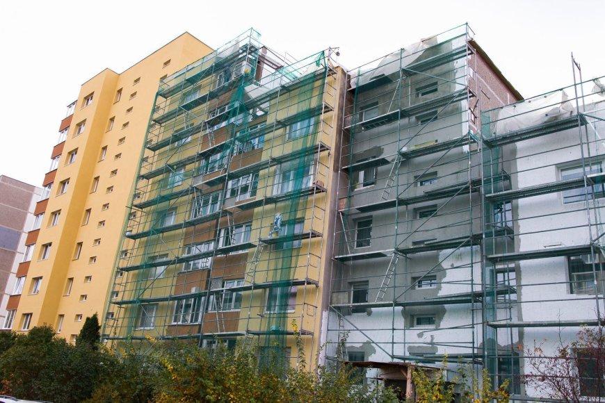 Renovuojamas S.Stanevičiaus g. 22 namas