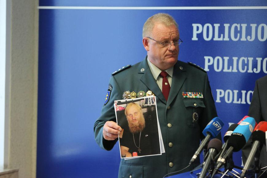 Laikinai policijos generalinio komisaro pareigas einantis Algirdas Stončaitis
