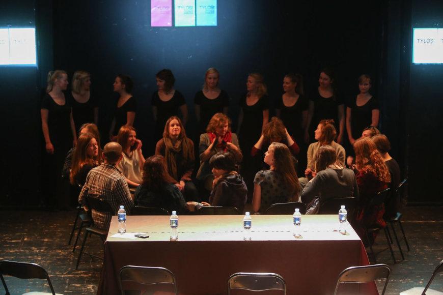 """Vilniaus mažajame teatre vyks šeštasis jaunųjų teatro kūrėjų festivalis """"Tylos!"""""""