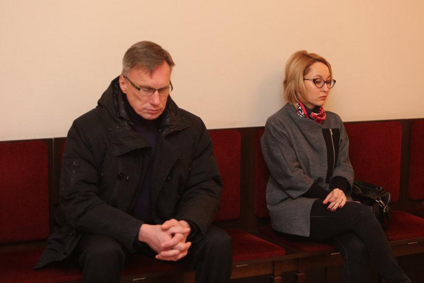 Raimundas Ivanauskas ir Eglė Barauskaitė