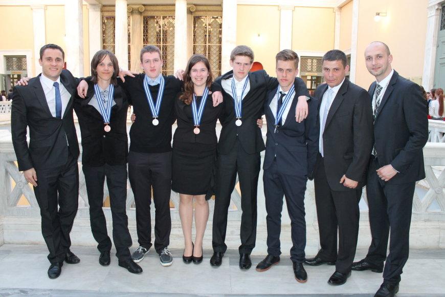Tarptautinės gamtos mokslų olimpijados prizininkai
