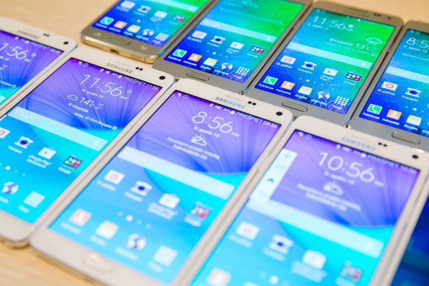 Samsung Galaxy Note 4 telefonai