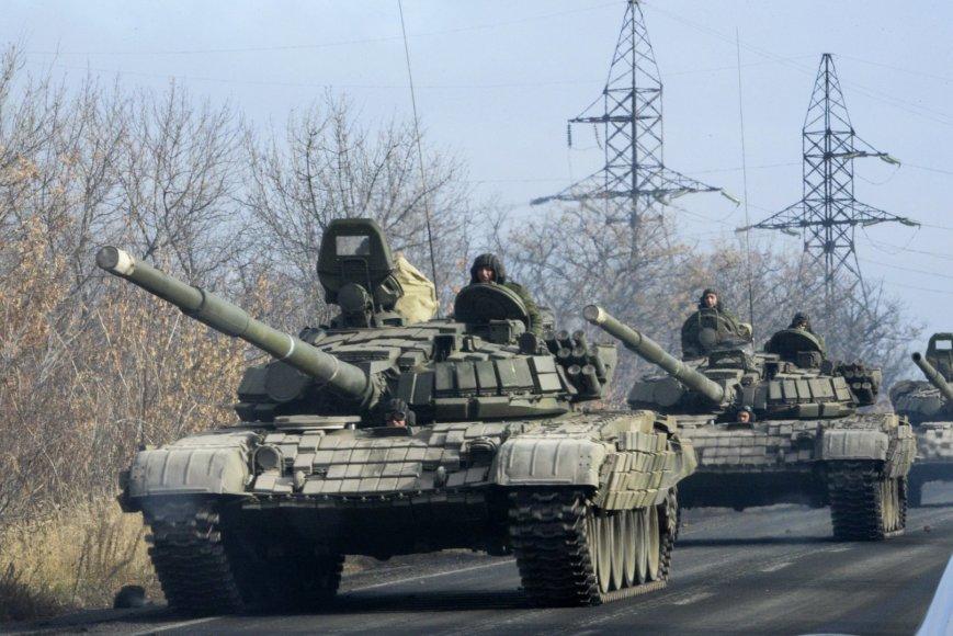 Rusijos karinė technika Rytų Ukrainoje