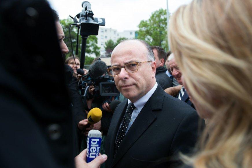 Prancūzijos vidaus reikalų ministras Bernard'as Cazeneuve'as