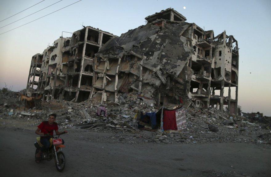 Konfliktas Gazos ruože tęsiasi
