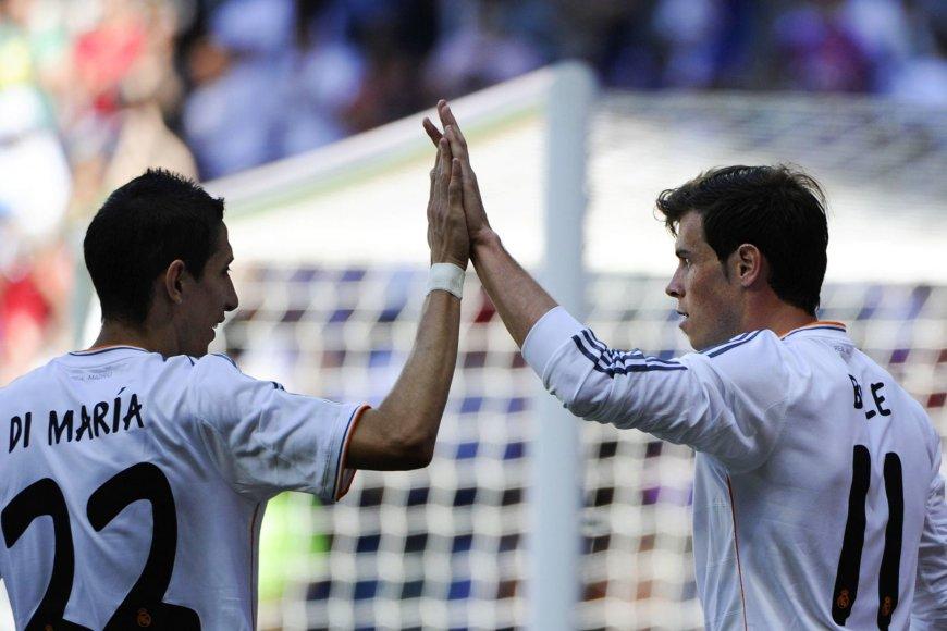 Angelis di Maria ir Garethas Bale'as