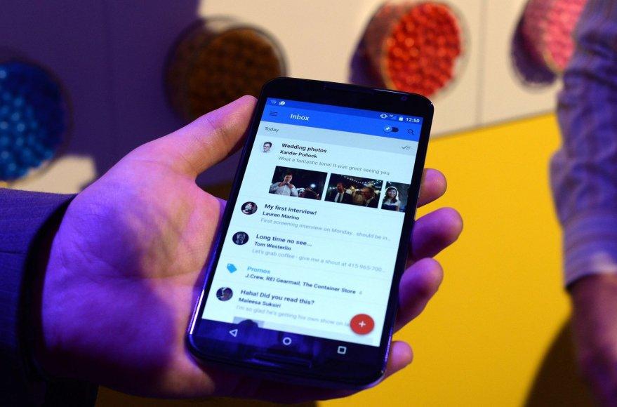 Mobilioji aplikacija Google Inbox