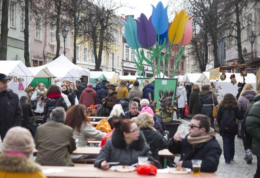 Vilniaus gatvėse prasidėjo tradicinė Kaziuko mugė.