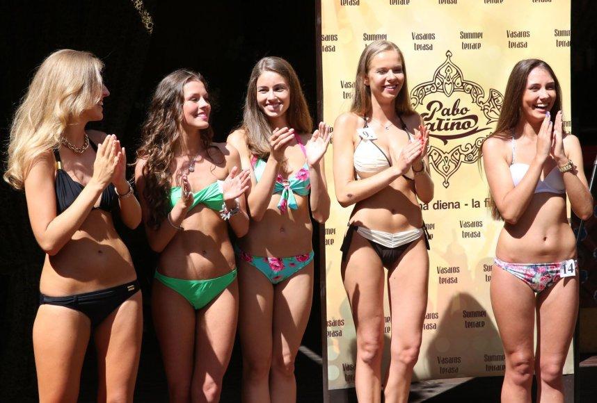 """""""Mis Lietuva 2014"""" finalininkės"""