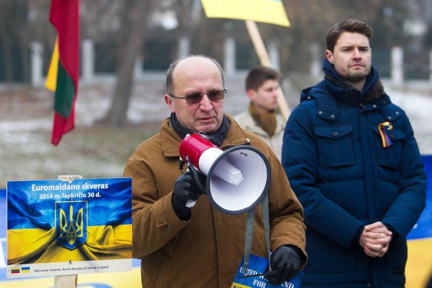 Andrius Kubilius ir Mykolas Majauskas