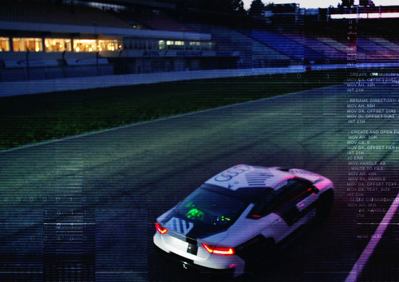 """Audi RS7"" autonominis automobilis"