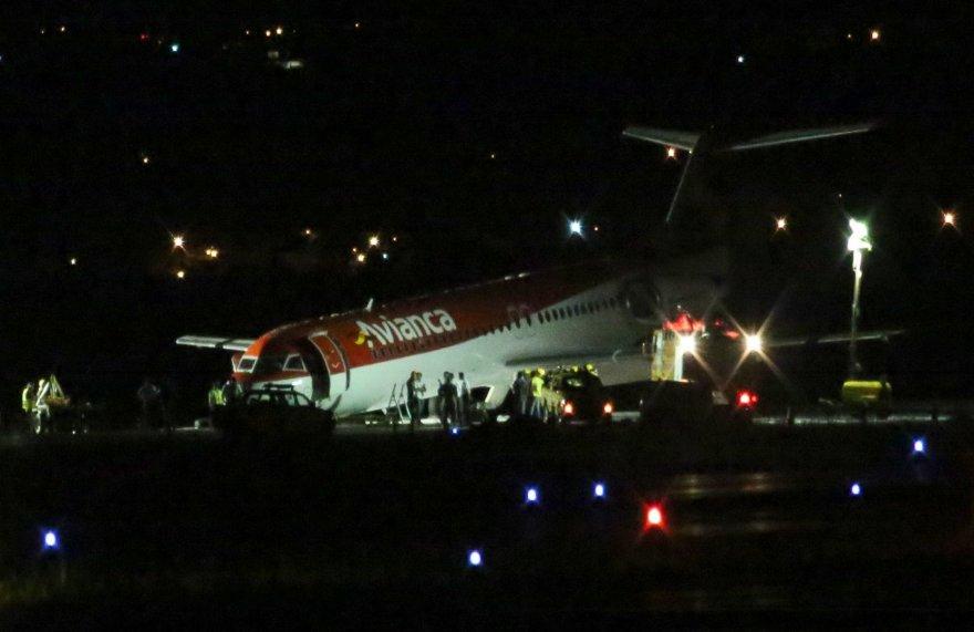 Brazilijoje sėkmingai nutūpęs lėktuvas
