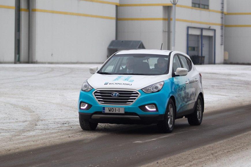"Vandeniliu varomas ""Hyundai ix35 Fuel Cell"""