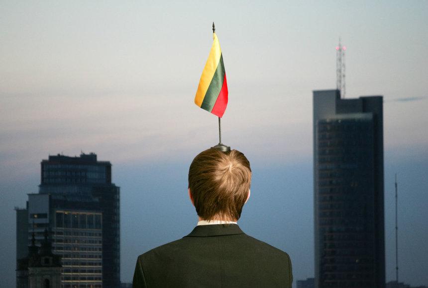 Lietuvos bankroto per artimiausius penkerius metus tikimybė toliau išlieka mažesnė nei 10 proc.