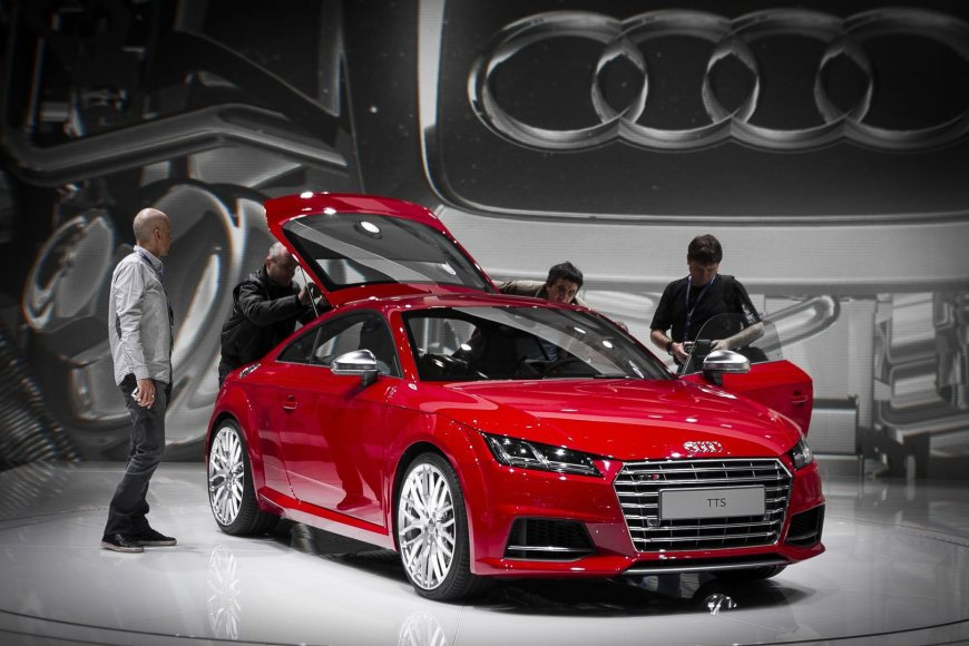 "Naujoji ""Audi TT"" Ženevoje"