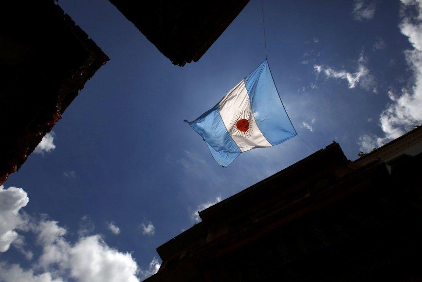 Argentinos vėliava
