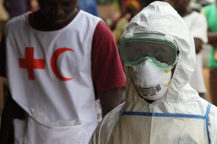 Vakarų Afrikoje siaučia Ebolos virusas