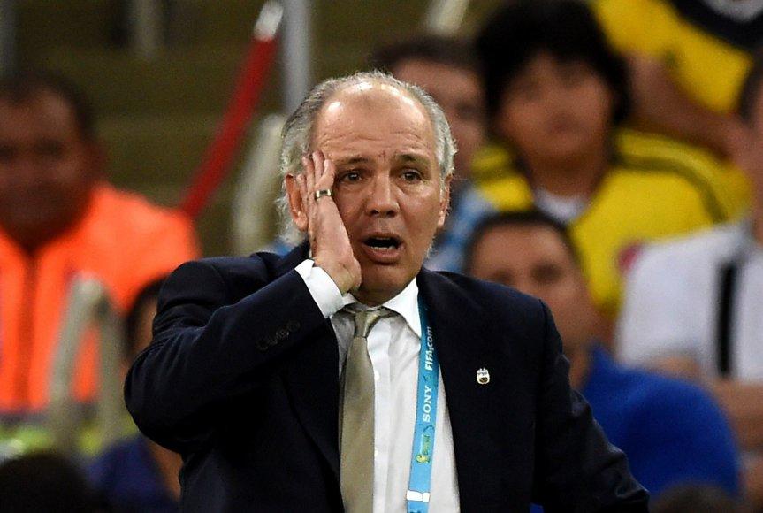 Argentinos futbolo rinktinės treneris Alejandro Sabella