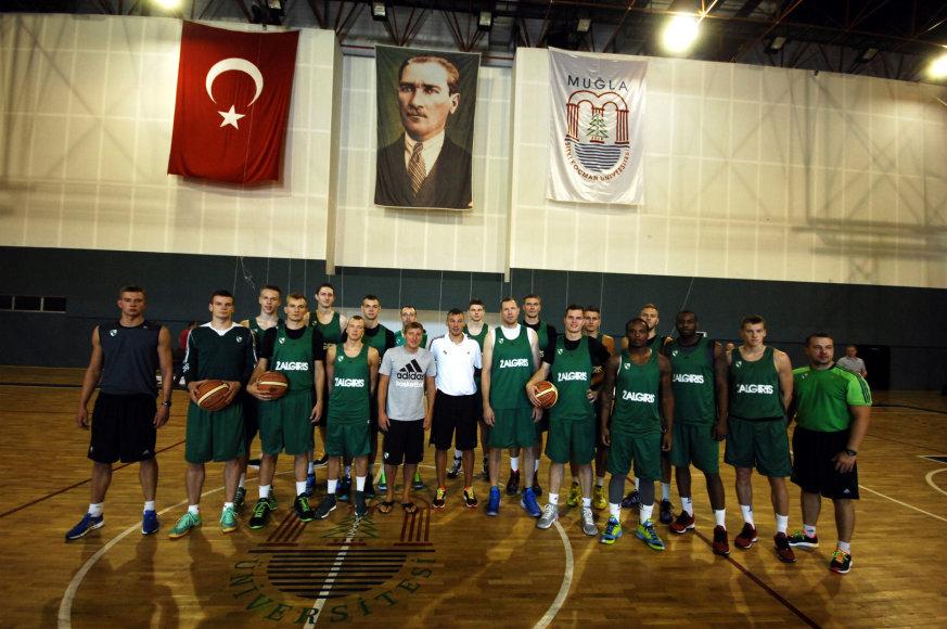 """Kauno """"Žalgirio"""" treniruočių stovykla Turkijoje"""