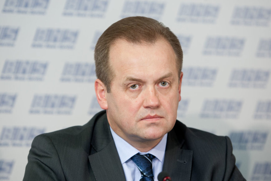Seimo laikinosios energetikos komisijos vadovas Artūras Skardžius