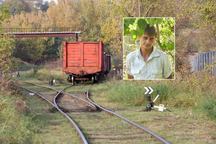 Geležinkelio atšaka R. Kalantos gatvėje Kaune