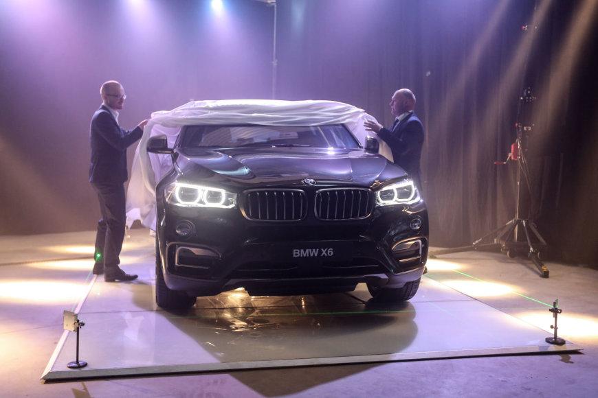 Naujojo BMW X6 pristatymas Lietuvoje