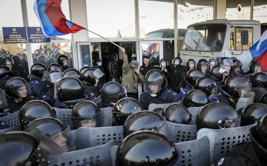 Separatistai Donbase
