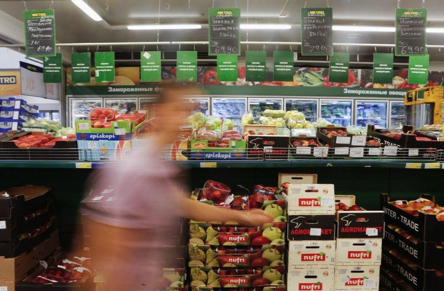 Kaliningrado srities gyventojams siūloma obuolių ieškoti turguje