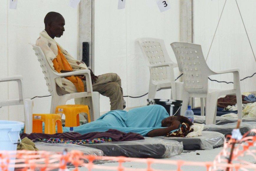 Ebolos virusu užsikrėtę pacientai