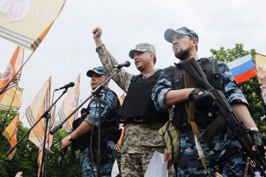 Prorusiški teroristai rytų Ukrainoje