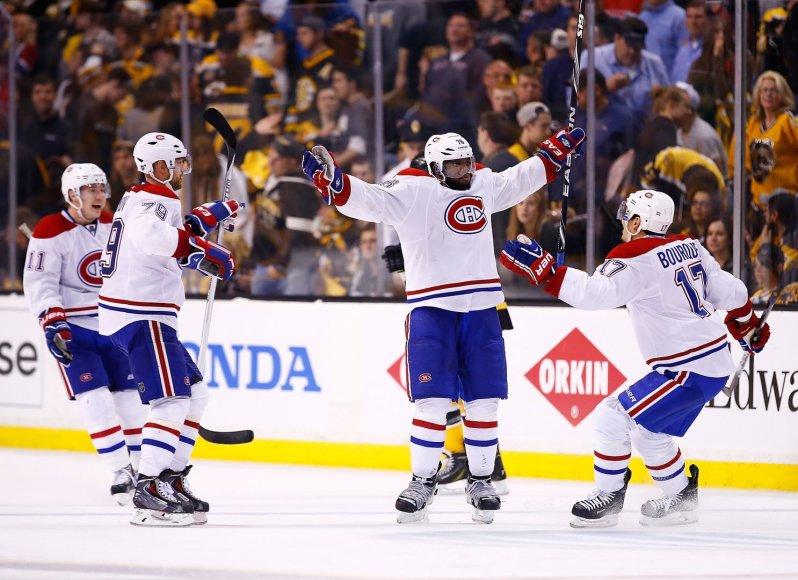 """""""Canadiens"""" įveikė """"Bruins"""""""
