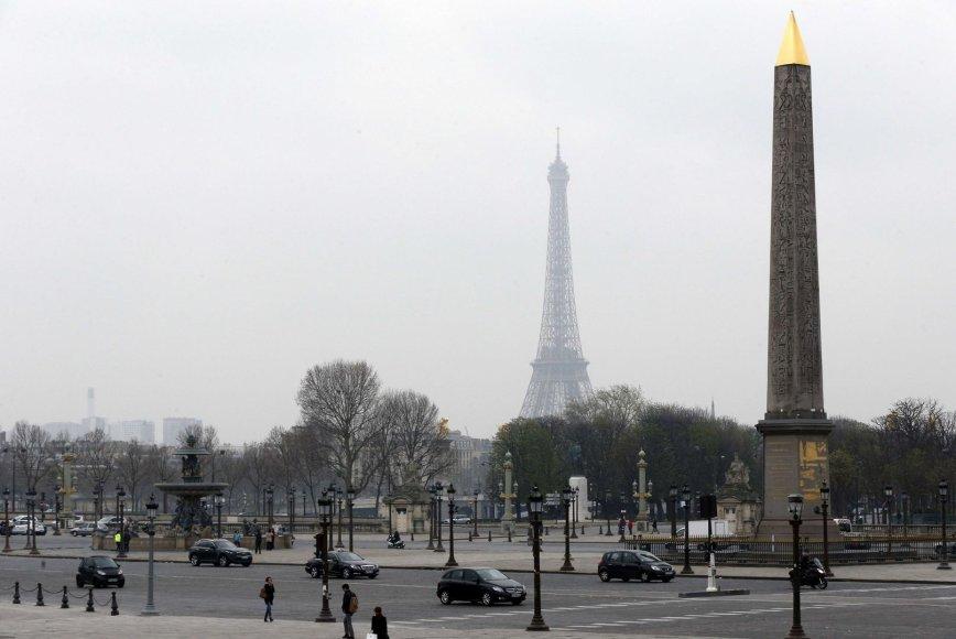 Smogas Paryžiuje