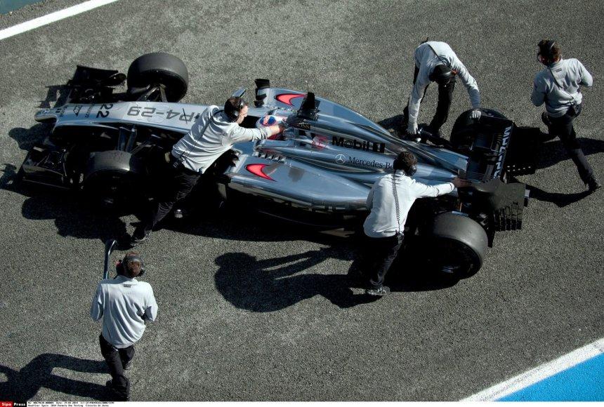 """McLaren"" bolidas"