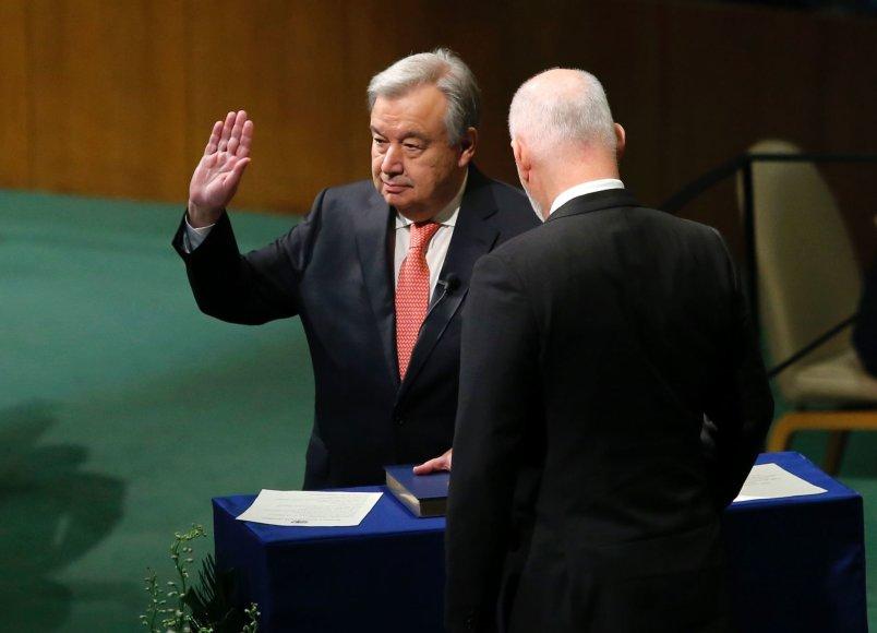 Antonio Guterreso priesaika