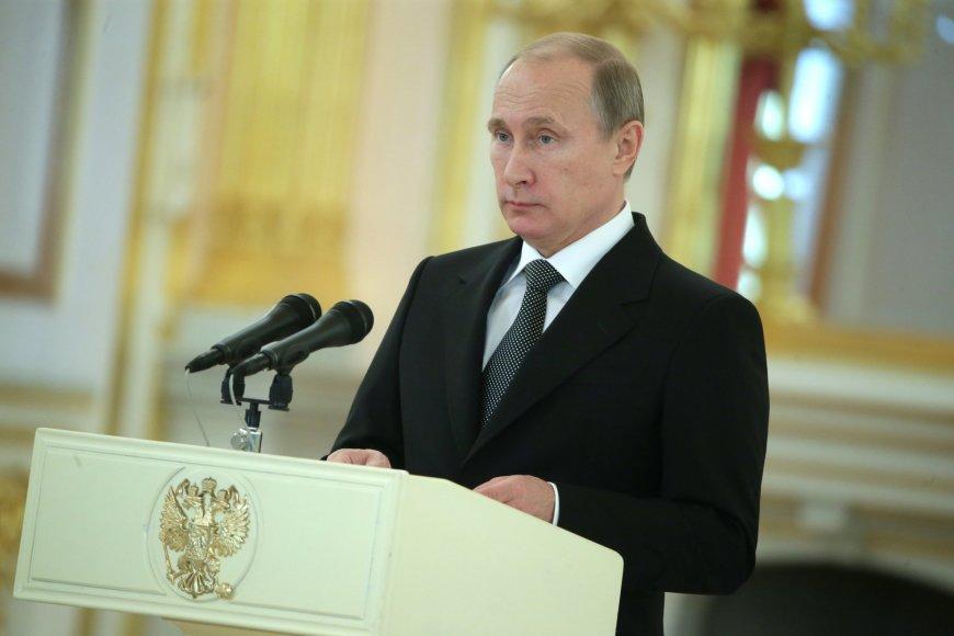 Vladimiras Putinas Kremliuje