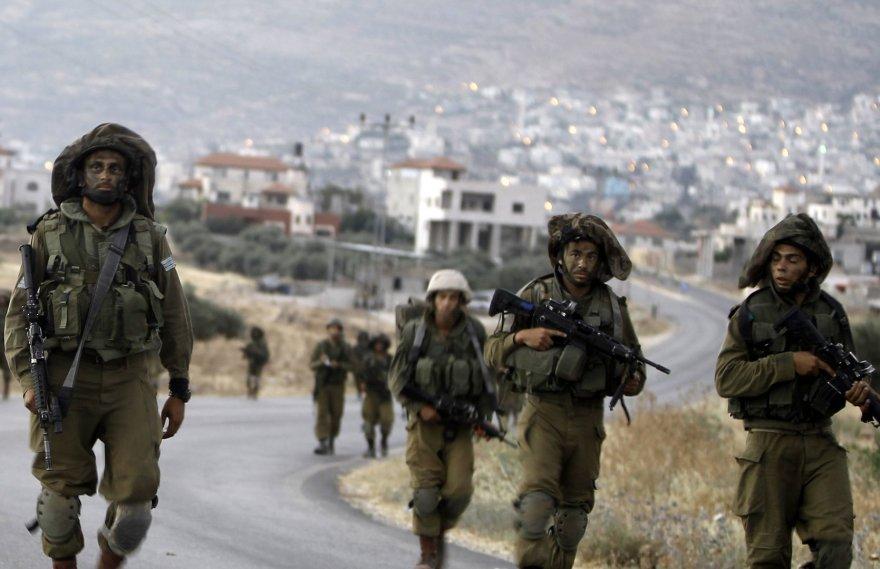 Izraelio kariai Vakarų Krante