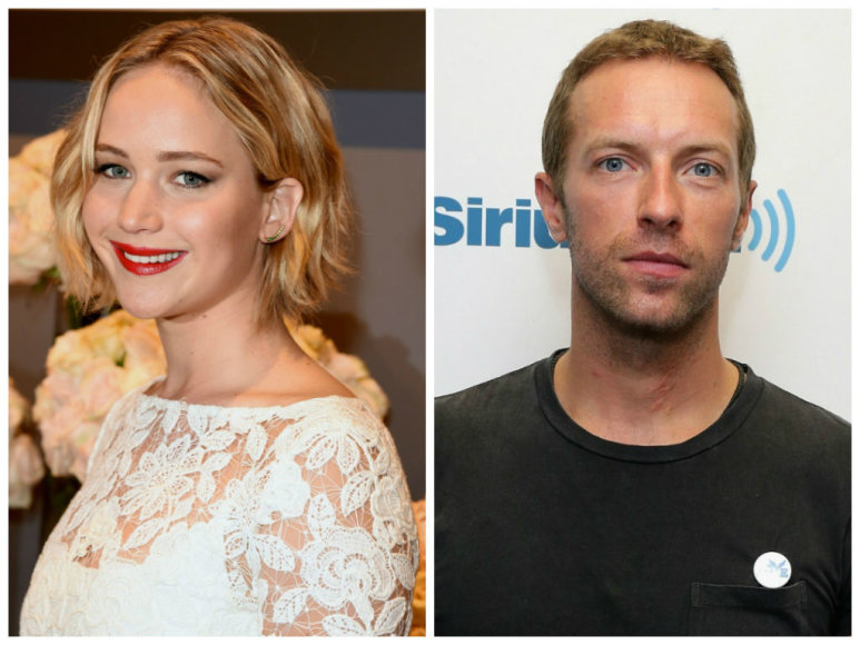 Jennifer Lawrence ir Chrisas Martinas