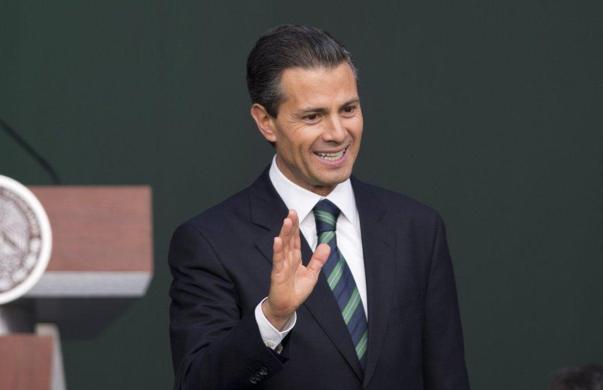Meksikos preizdentas Enrique Penos Nieto