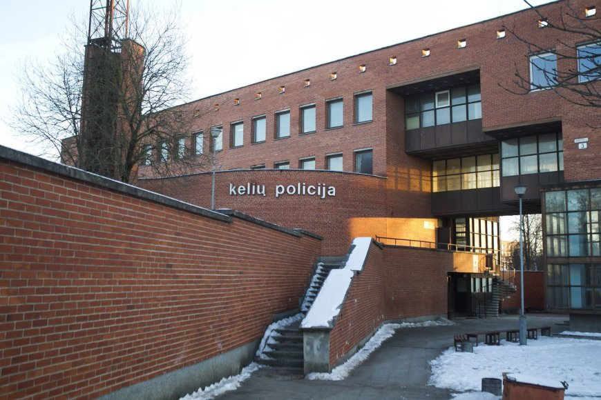 Vilniaus kelių policijos pastatas