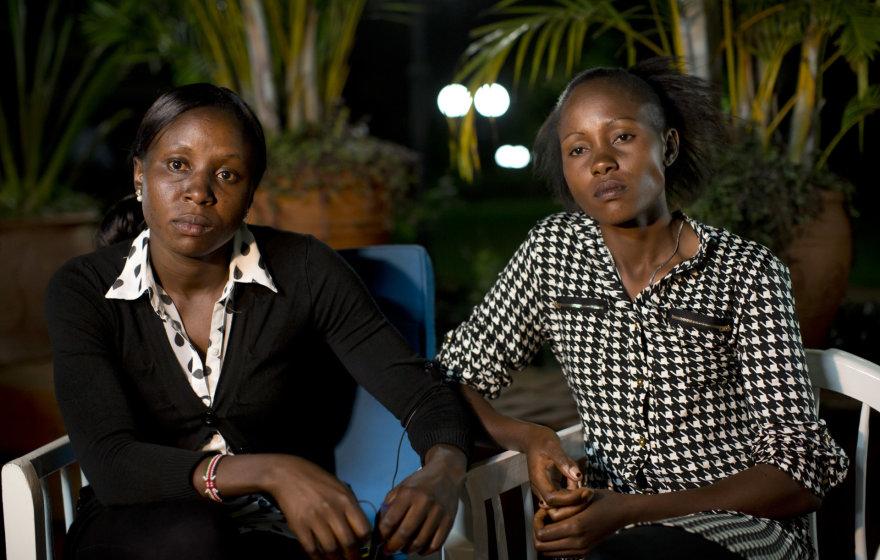 Joy Sakari ir Francisca Koki Manunga