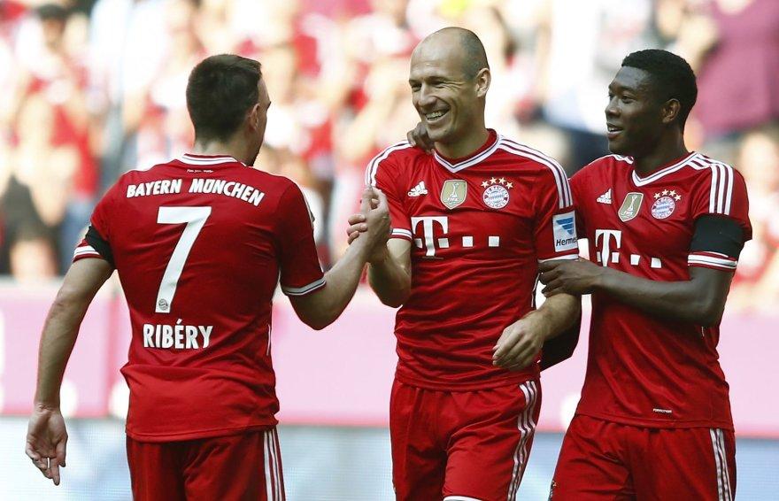 """Bayern"" vėl laimėjo"