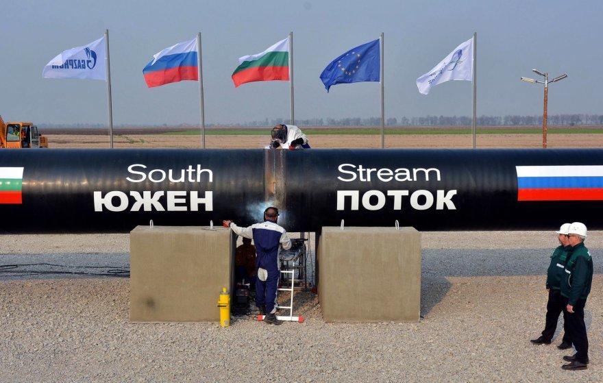 """""""South Stream"""" (""""Pietų srauto"""") dujotiekis"""