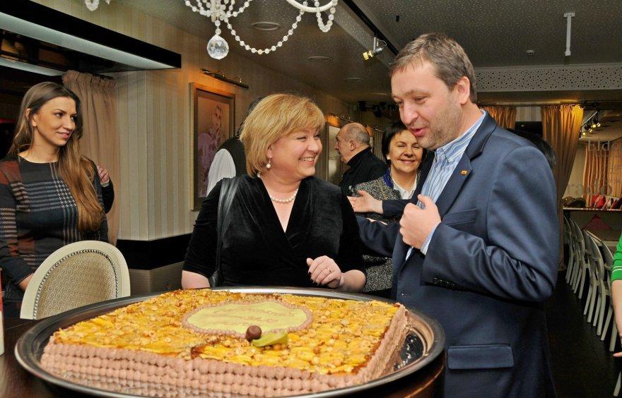 Edita Mildažytė ir Antanas Guoga