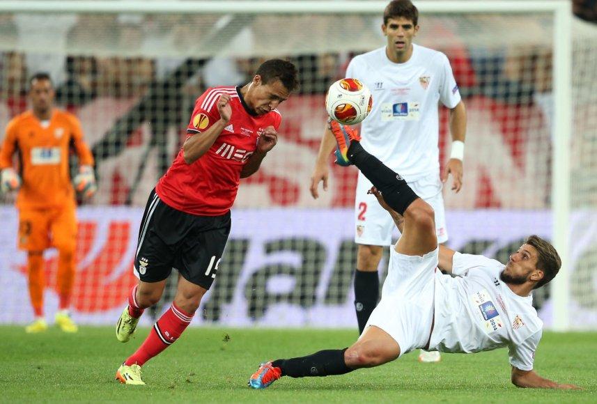"""""""Sevilla"""" ir """"Benfica"""" dvikovoje paaiškėjo Europos lygos laimėtojai – jais tapo ispanai"""