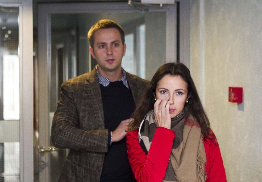 Karina Jeremian-Daniškevičė ir Mantas Daniškevičius