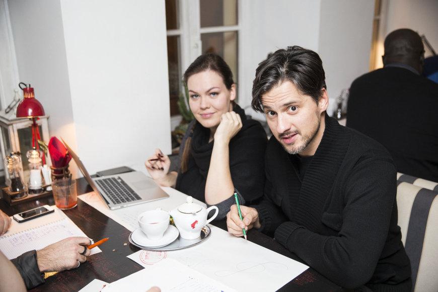 Girmantė Vaitkutė ir Vytautas Rumšas