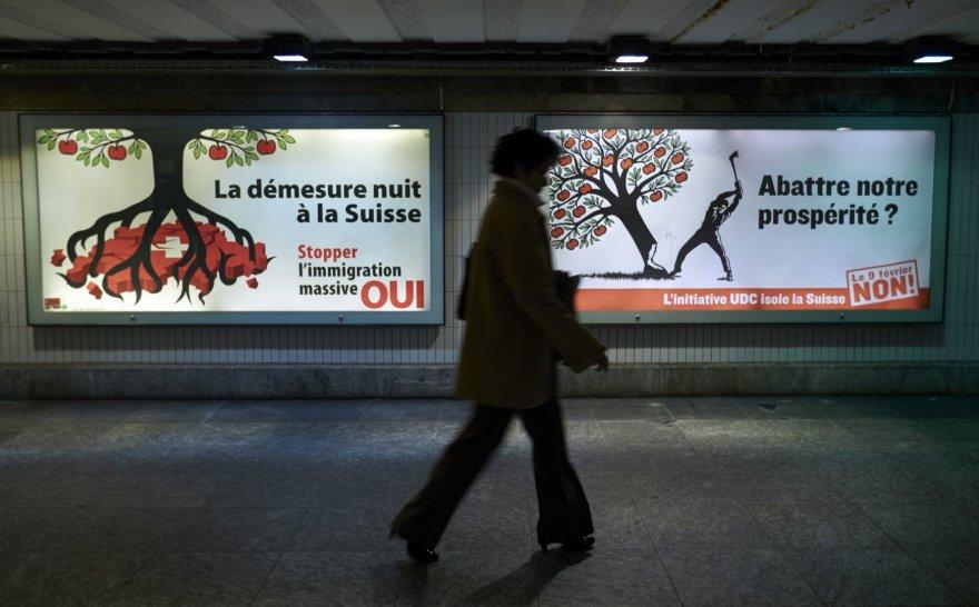 Agitaciniai plakatai Šveicarijoje