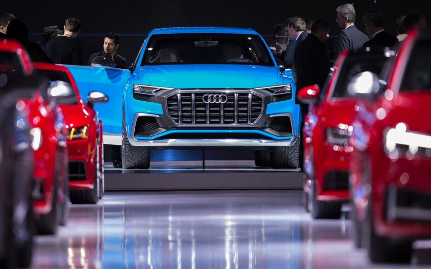 """""""Audi"""" Detroito automobilių parodoje"""