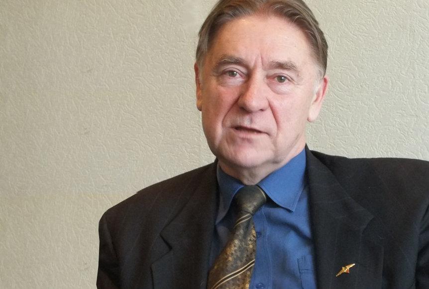 Jonas Mažintas – Lietuvos aeroklubo prezidentas