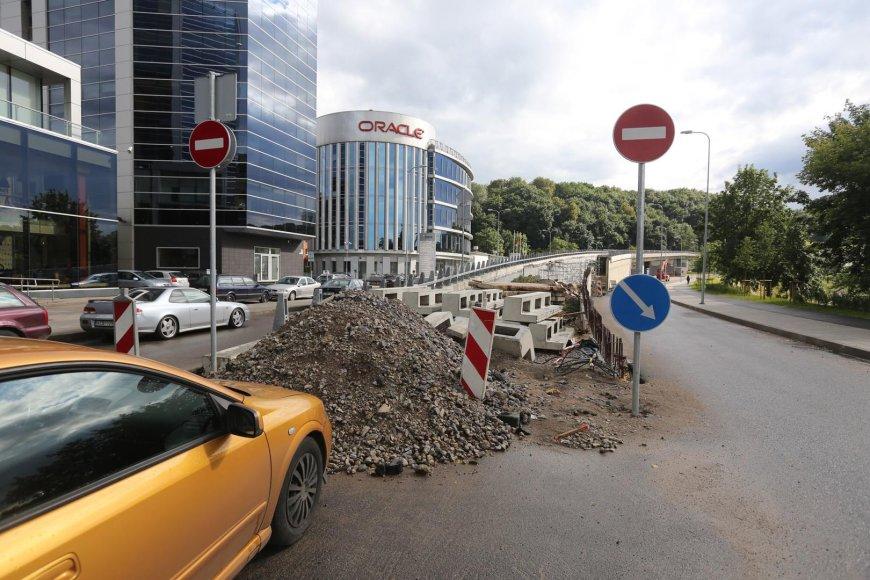 Viadukas tarp Geležinio Vilko ir A.Goštauto gatvių